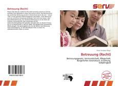 Bookcover of Betreuung (Recht)