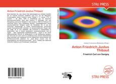 Bookcover of Anton Friedrich Justus Thibaut