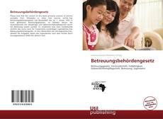 Capa do livro de Betreuungsbehördengesetz