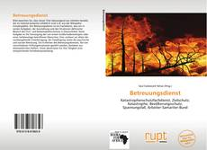 Borítókép a  Betreuungsdienst - hoz