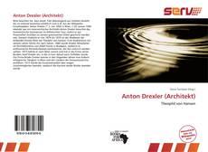 Buchcover von Anton Drexler (Architekt)