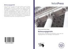 Bookcover of Betreuungsgericht
