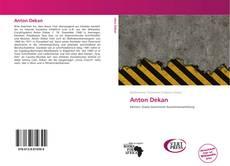 Capa do livro de Anton Dekan