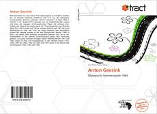 Bookcover of Anton Geesink