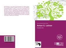 Buchcover von Anton G. Leitner