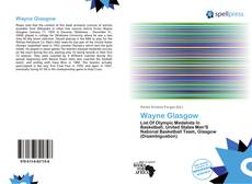 Bookcover of Wayne Glasgow