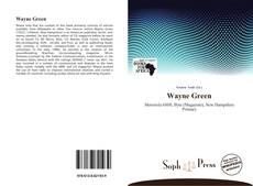 Обложка Wayne Green
