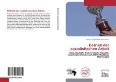 Capa do livro de Betrieb der sozialistischen Arbeit