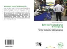 Betrieb mit staatlicher Beteiligung kitap kapağı