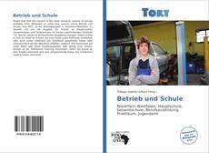 Capa do livro de Betrieb und Schule
