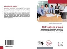 Capa do livro de Betriebliche Übung