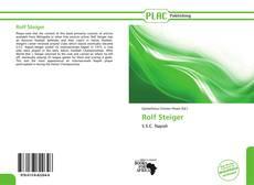 Bookcover of Rolf Steiger