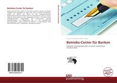 Betriebs-Center für Banken kitap kapağı