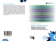 Обложка Wayne Hendrickson