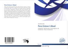 Обложка Pere Esteve I Abad