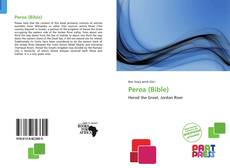 Bookcover of Perea (Bible)