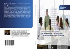 Bookcover of Dr Hosseini's Catalyst for Transformation and Change