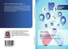 Capa do livro de How To Understand Pharmacology..?!