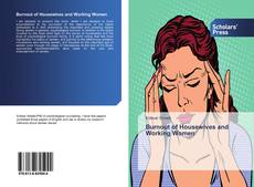 Bookcover of Burnout of Housewives and Working Women