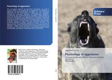 Bookcover of Psychology of aggression