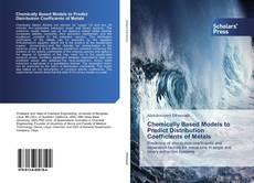Borítókép a  Chemically Based Models to Predict Distribution Coefficients of Metals - hoz
