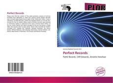 Capa do livro de Perfect Records