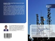Couverture de Analysis of Microstrip Patch Antenna for Radar Communication