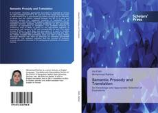 Couverture de Semantic Prosody and Translation
