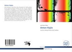 Bookcover of Anton Hajós