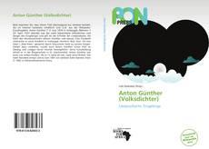 Capa do livro de Anton Günther (Volksdichter)