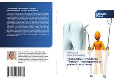 """Buchcover von """"Supportive Periodontal Therapy"""" - maintenance to prevent recurrence"""