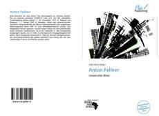 Buchcover von Anton Fellner