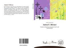 Bookcover of Anton F. Börner