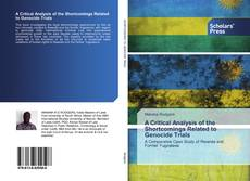 Bookcover of A Critical Analysis of the Shortcomings Related to Genocide Trials