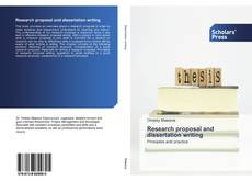 Bookcover of Research proposal and dissertation writing