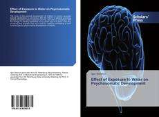 Bookcover of Effect of Exposure to Water on Psychosomatic Development