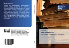Bookcover of Applied Statistics