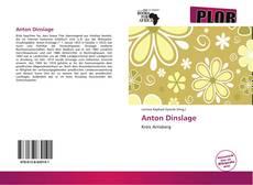 Bookcover of Anton Dinslage