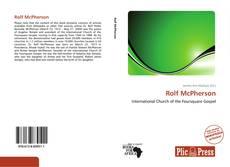 Portada del libro de Rolf McPherson