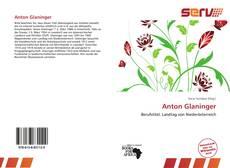 Bookcover of Anton Glaninger
