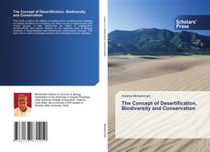 Buchcover von The Concept of Desertification, Biodiversity and Conservation