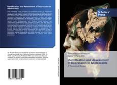 Portada del libro de Identification and Assessment of Depression in Adolescents