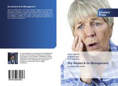 Bookcover of Dry Socket & its Management