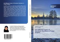 Bookcover of On Different Types of Geodesic Numbers in Fuzzy Graphs