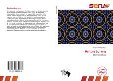 Bookcover of Anton Lorenz