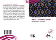 Copertina di Anton Levien Constandse