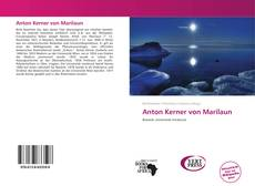 Copertina di Anton Kerner von Marilaun