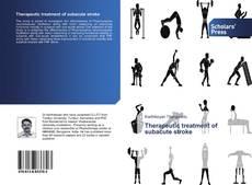 Bookcover of Therapeutic treatment of subacute stroke