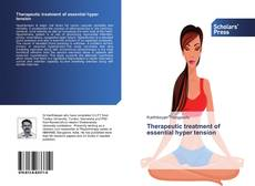 Bookcover of Therapeutic treatment of essential hyper tension