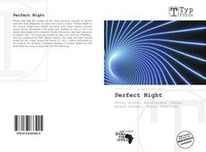 Bookcover of Perfect Night